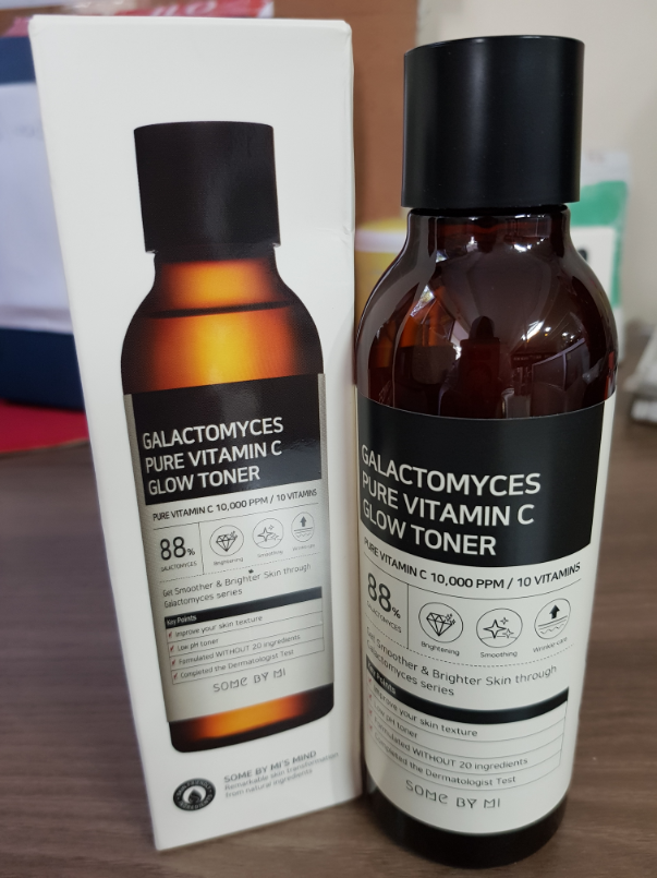 Review Some by Mi Galactomyces Toner